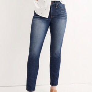 Madewell Slim Straight jean